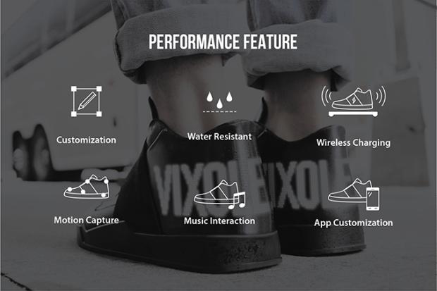 Amate i prodotti smart? Allora queste scarpe Vixole Matrix faranno al caso vostro - (Video)